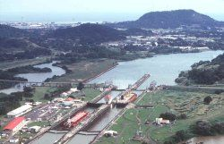 Panama Canal Miraflorez Locks