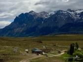 Argentinischer Grenzübergang am Paso Roballos