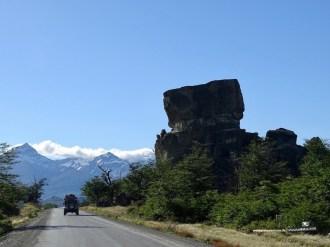 Stuhl des Teufels wird dieser Fels genannt