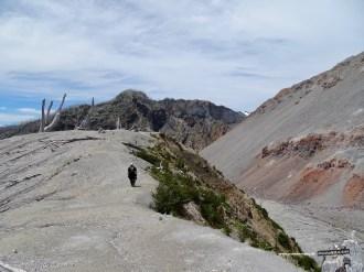 Spaziergang am Kraterrand des Chaitén
