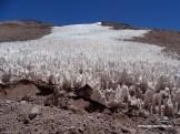 Die Büßerschneefelder am Paso de Agua Negra