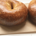Traditional bagel