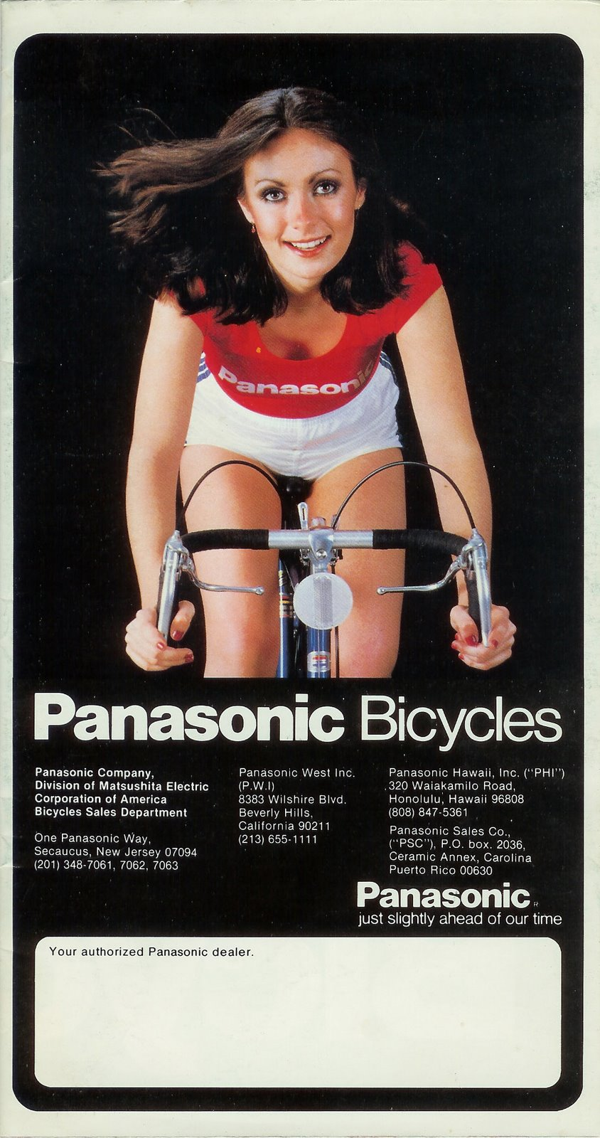 1980 Panasonic Bicycles USA catalog