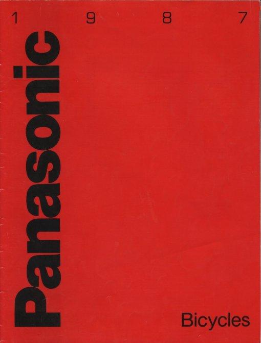 1987 Panasonic Bicycles Catalog