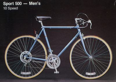 1983 Panasonic Sport 500 - Men's