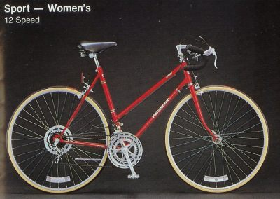 1983 Panasonic Sport - Women's