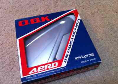 The very rare OGK Aero water bottle used on the AR-6000.