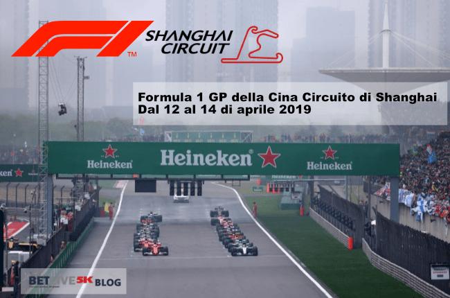 gara di f1 2019 in Cina