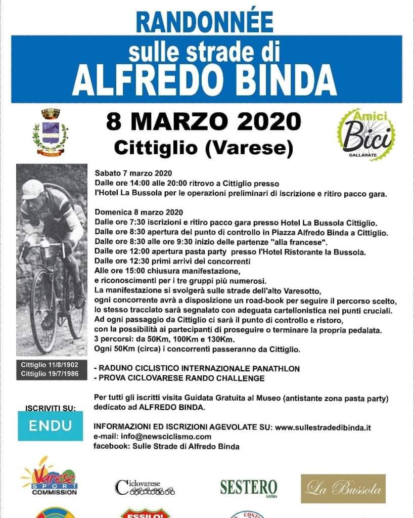 PANATHLON VARESE, RICORDANDO ALFREDO BINDA