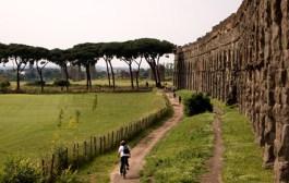 Roberto e Carlo Dalla Pellegrina da Brescia a Roma sulla via Francigena