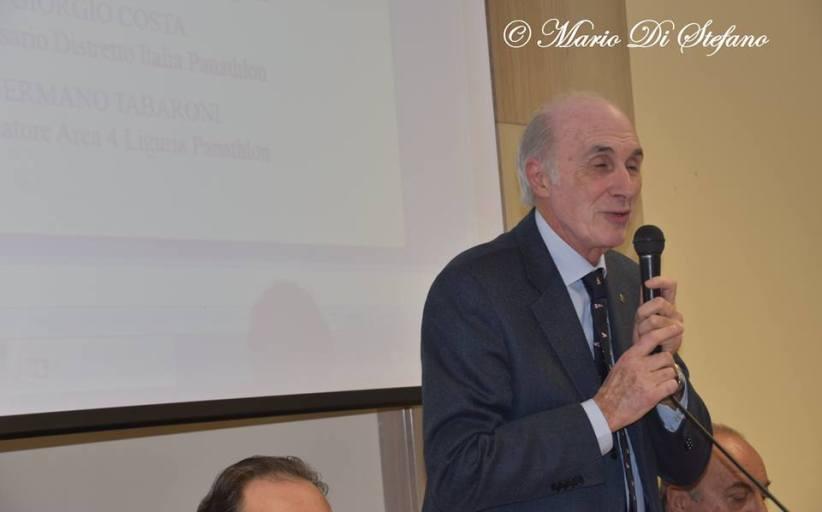 """Area 11 Campania, video incontro con il Presidente del """"Distretto Italia"""" Giorgio Costa"""