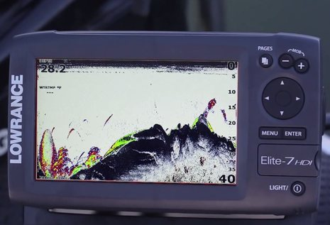 lowrance elite4 hdi a whole lot of tech for a little dough