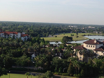 The conference is taking place in beautiful, sunny Orlando, Fla.