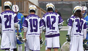 Emmaus High School's lacrosse team raised awareness and funds for the Pancreatic Cancer Action Network.
