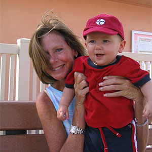 Jake with his aunt Susie