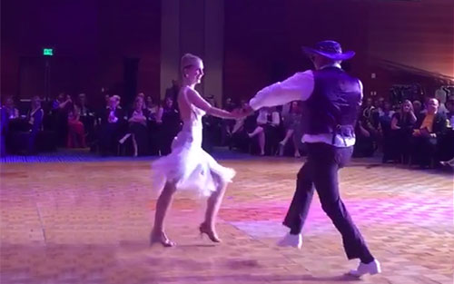 Hans Johnson, pancreatic cancer survivor, Dancing with the Twin Cities