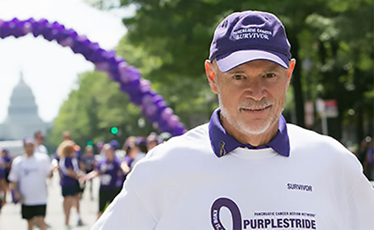Larry Clark was a devoted PanCAN volunteer, advocate and retired Rancho Palos Verdes, Calif., mayor.