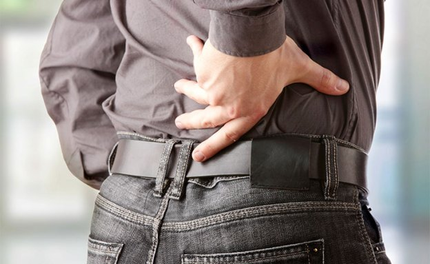 Back pain may be a sign of pancreatic cancer