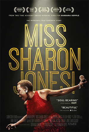 The movie Miss Sharon Jones follows the year after her pancreatic cancer diagnosis