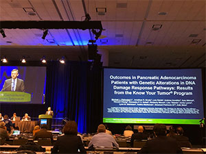 PanCAN's precision medicine results are presented at major gastrointestinal cancers conference