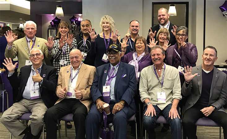 Pancreatic cancer survivors at PanCAN's 20th anniversary celebration