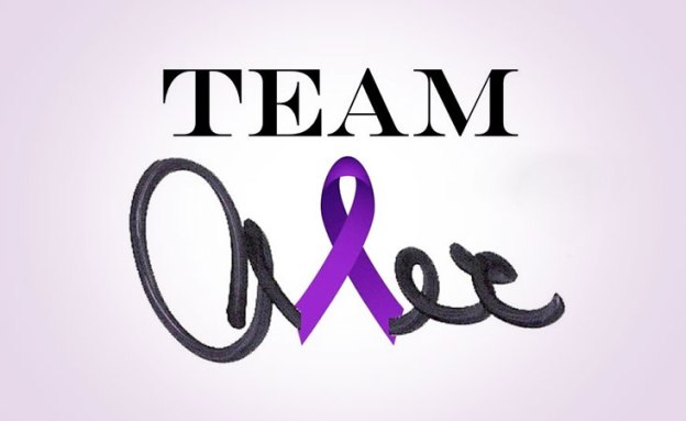 Team Alex is supporting Alex Trebek at PurpleStride Los Angeles on May 4