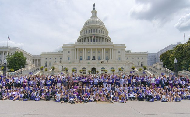 Advocates at the U.S. Capitol for Pancreatic Cancer Action Network's Pancreatic Cancer Advocacy Day