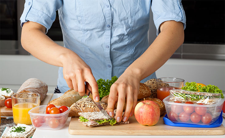 Preparing a lunch that fuels the body with the right nutrients is key for pancreatic cancer patients.