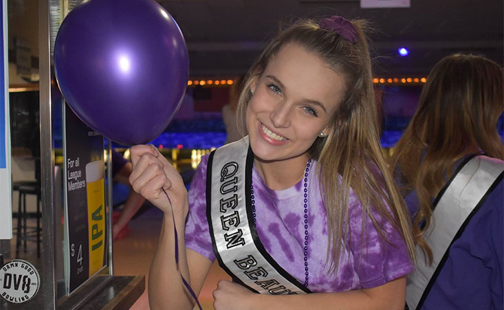 Young granddaughter hosts bowling fundraiser for her grandad who died from pancreatic cancer