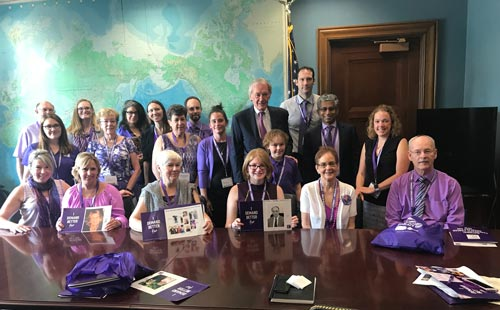 PanCAN advocates meet with Massachusetts senator to discuss pancreatic cancer research