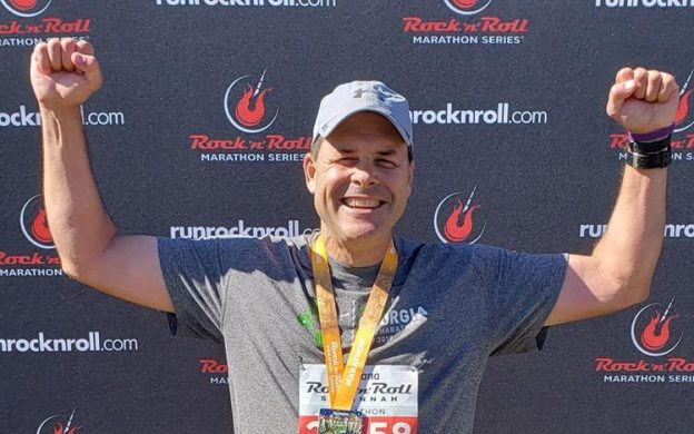 Pancreatic cancer fundraiser finishes Rock 'n Roll Marathon as the top DIY fundraiser in 2018