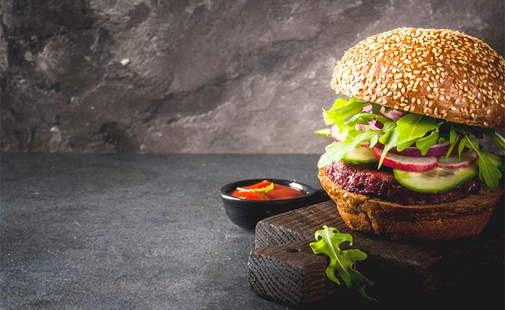 Plant-based burgers are increasingly popular. But are they healthier than meat burgers?