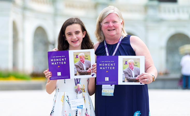 West Virginia mom and daughter advocate on Capitol Hill at Pancreatic Cancer Advocacy Day 2019