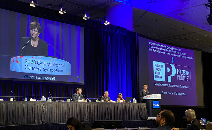 Pancreatic cancer surgeon presents PanCAN's Precision Promise at major conference