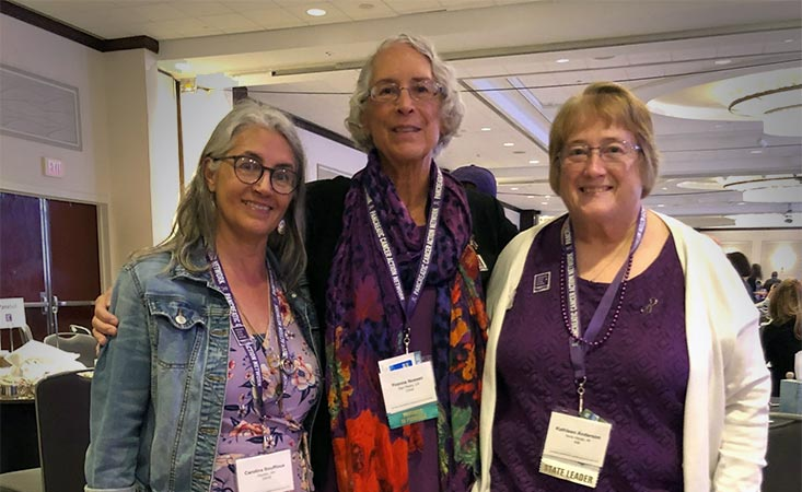 3 moms who lost their sons to pancreatic cancer connected at PanCAN advocacy event
