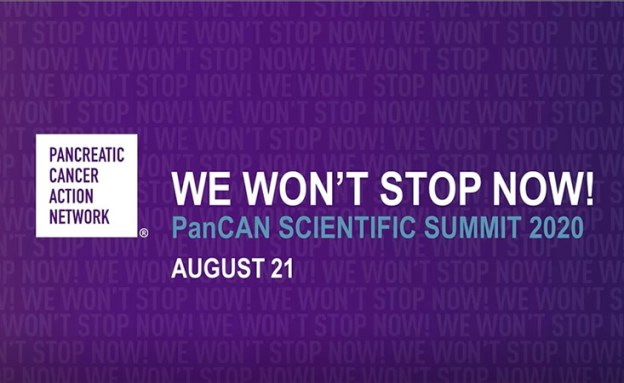 Intro slide for PanCAN's virtual Annual Scientific Summit