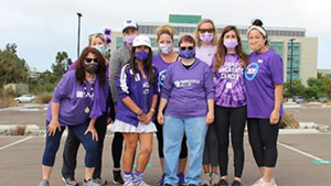 PurpleStride San Diego raised 145% of goal in 2020.