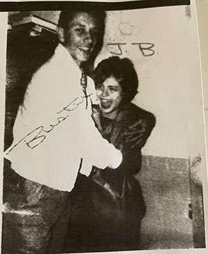 Lewis and Joni Jordan as high school students