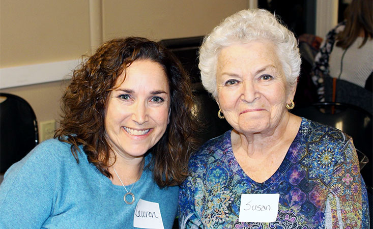 Lauren Postyn, caregiver to her mother, a pancreatic cancer patient