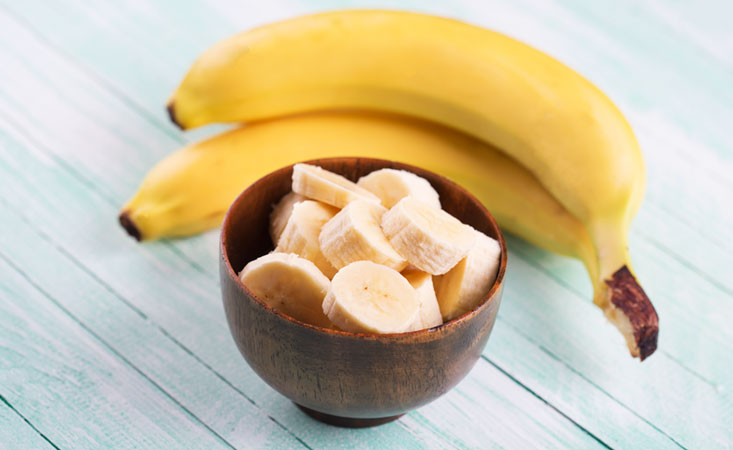 Bananas are a great source of nutrients and help pancreatic cancer patients manage side effects