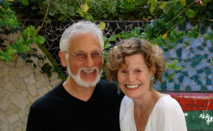 Famed author Judy Blume and husband George Cooper