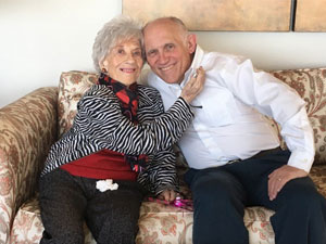 """""""Facts of Life"""" actor Charlotte Rae and """"Star Trek"""" actor Armin Shimerman"""