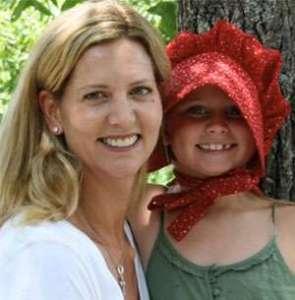 Leslie Landon Matthews with daughter Catherine