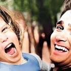 Michael Landon and daughter Leslie Matthews