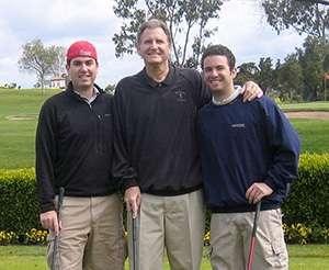 Tom, Bob and Jon Aronson