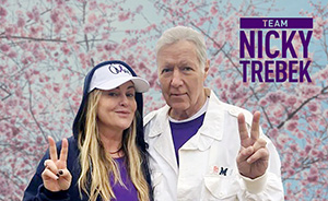 Alex Trebek and daughter Nicky