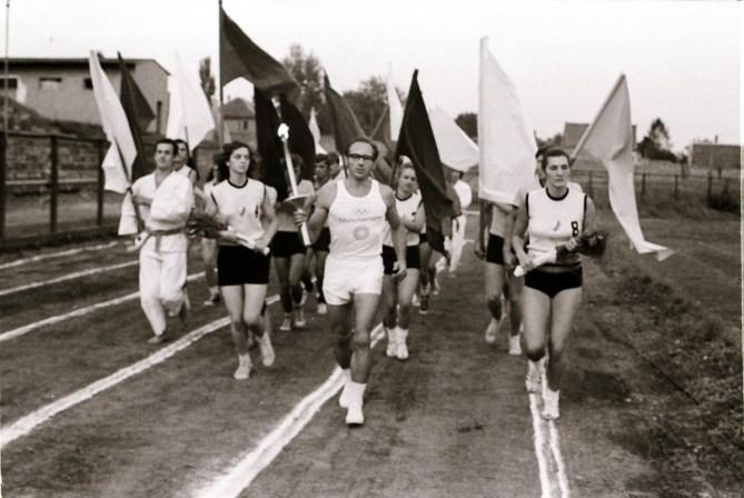 Doček i ispraćaj Olimpijske baklje - 17. avgust 1972.