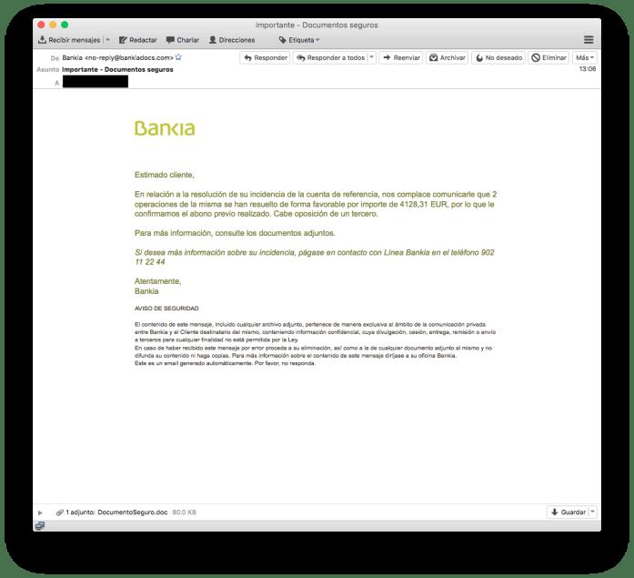 DLXsyZRX0AAZgT6 - Bankia, utilizada en la última campaña de phishing
