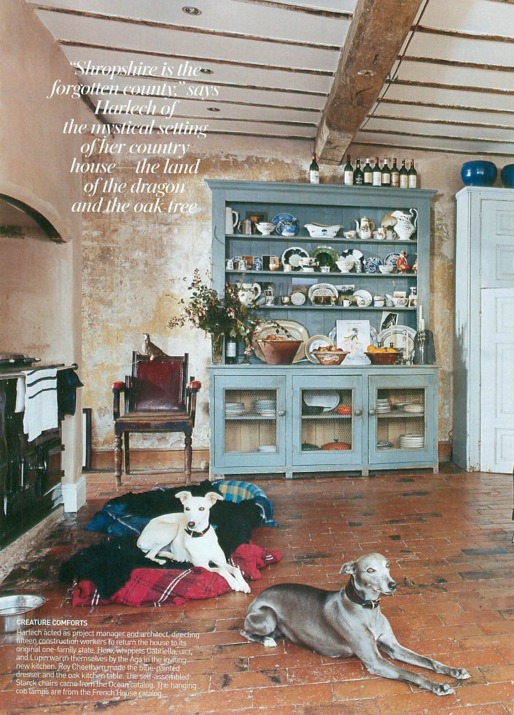 amanda harlech country home interior design vogue 2006 5 on country farmhouse exterior paint colors 2021 id=56444