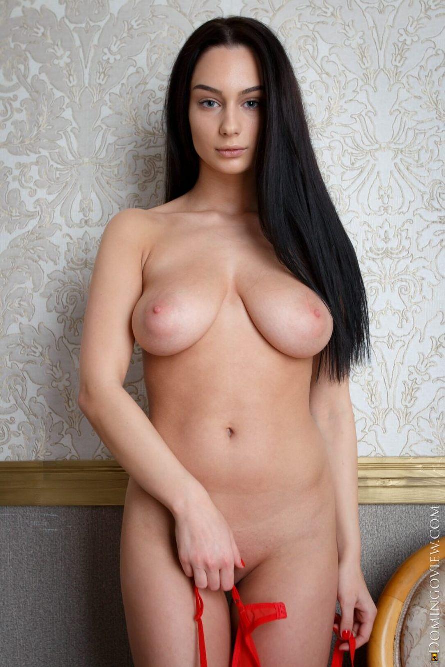 DomingoView Blera – Elegant Big Tits Babe Poses Naked (12 photos)